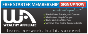 Wealthy Affiliate Starter Banner Image